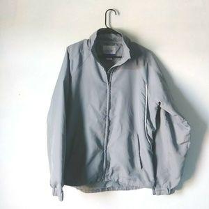 RBK Reebok Small Gray Active Wear Men's Zip Up